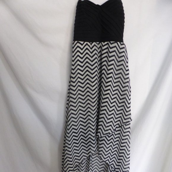 GUESS, xs, extra small, black and white dress GUC